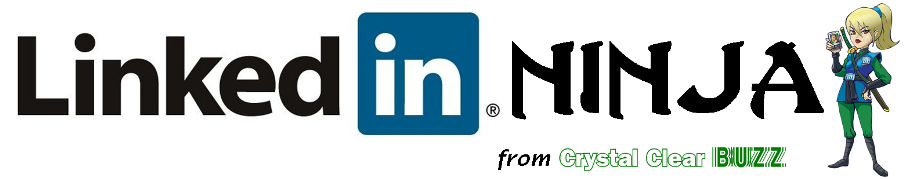 LinkedIn Ninja from Crystal Clear Buzz